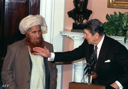 Az afgán ellenállás vezére a Fehér Házban