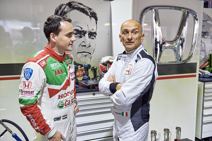 Michelisz és Gabriele Tarquini tavaly, a WTCC kínai hétvégéjén újra egy csapatban versenyezhettek