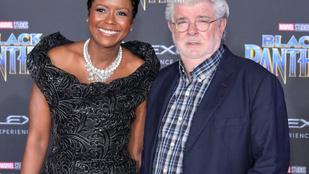 Kicsit megszaladt a borotva George Lucas arcán