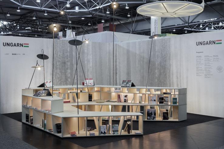 A magyar stand a 2016-os Lipcsei Könyvvásáron
