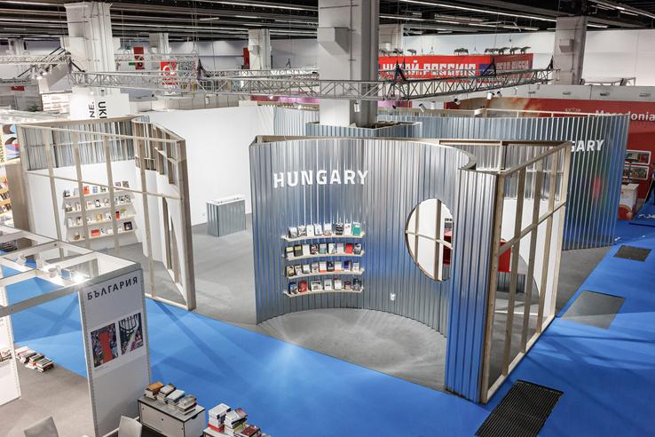 A magyar pavilon 2017-ben, a Frankfurti könyvvásáron
