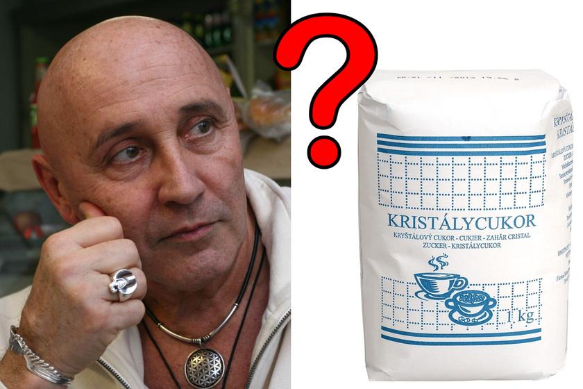 Hogy is volt? A kristálycukor rejtélye még Pataky Attilát is elgondolkodtatta.