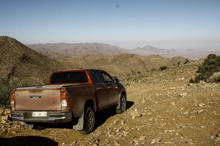Ez dél-kelet Namíbia, idén észak-nyugaton voltunk a Land Cruiserekkel