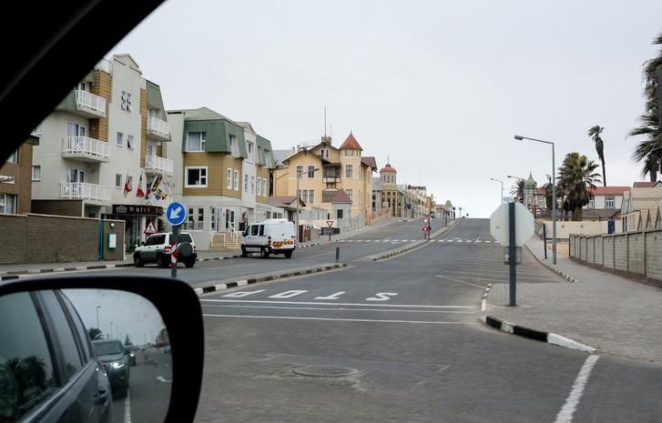 Swakopmundi városkép