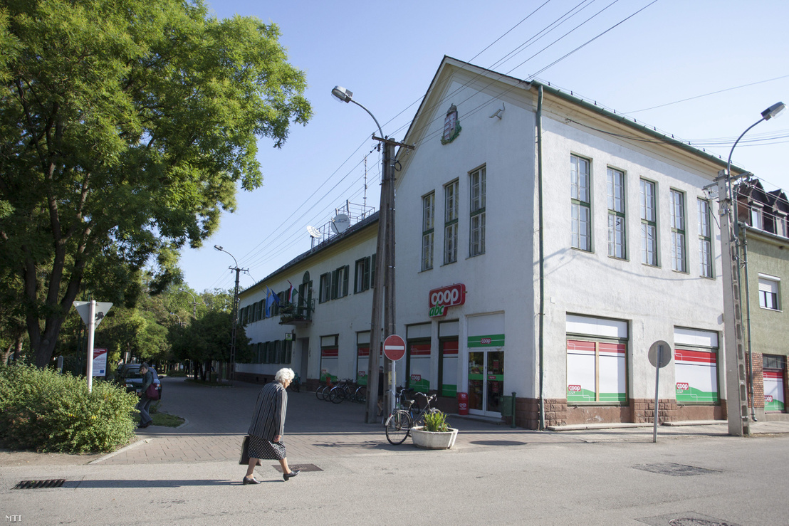 A Coop élelmiszerlánc boltja a Vas megyei Jánosházán 2013. július 12-én.