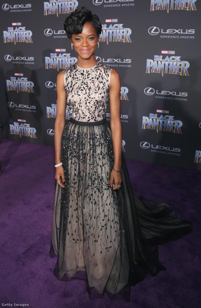 Ő Letitia Wright, akit nemrég a legígéretesebb újonc színésznő kategóriában jelöltek a British Independent Film Awardson.