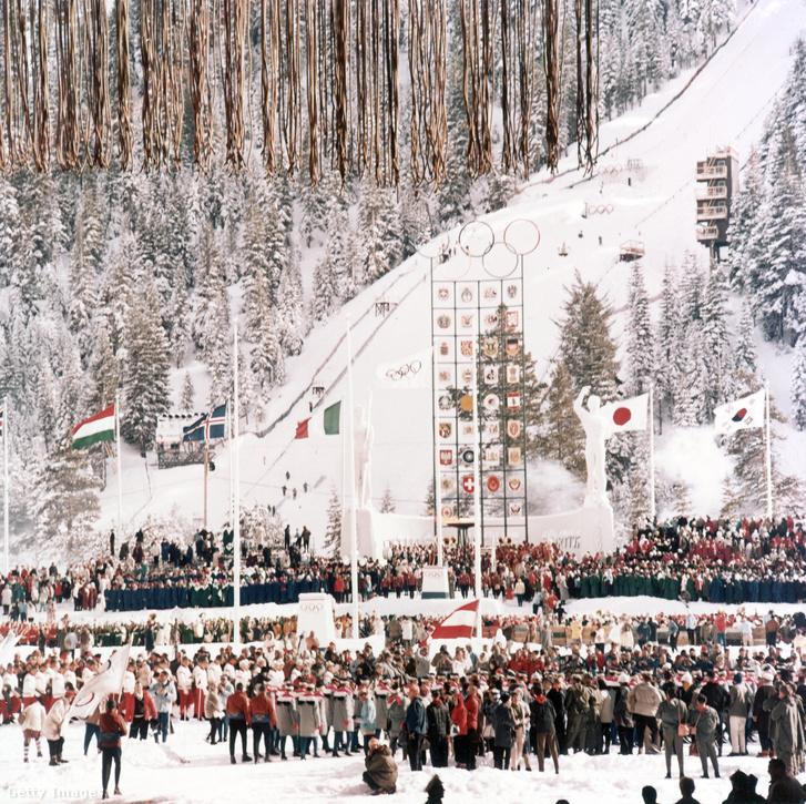 Az olimpia megnyitója 1960-ban, Squaw Valley
