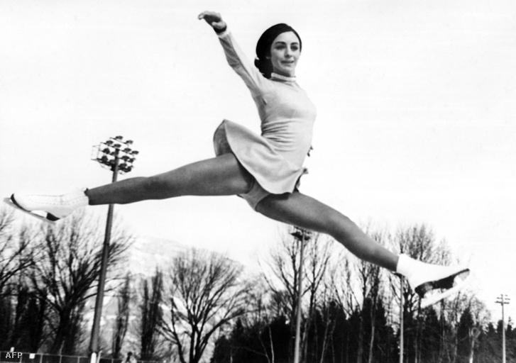 Peggy Fleming az olimpián