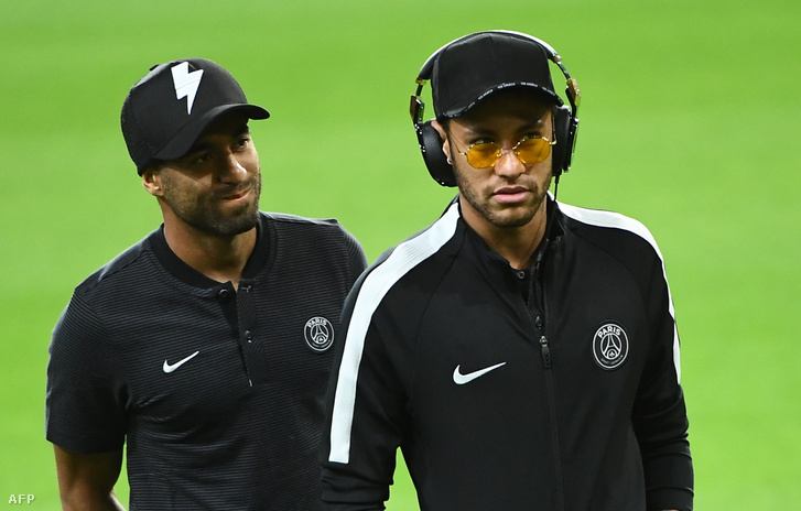 Lucas Moura és Neymar