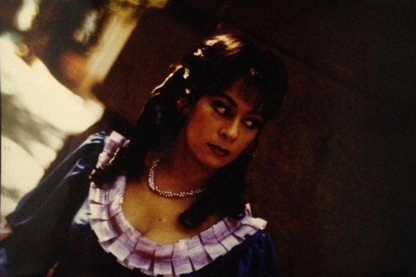 Sztárek Andrea pályakezdő főiskolásként a Kaméliás hölgyben. Rengeteg szerepben játszotta a végzet asszonyát.
