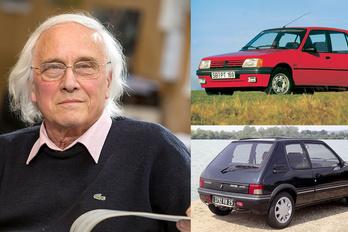 Meghalt a Peugeot 205 atyja