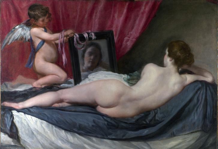 Diego Velazquez: Vénusz tükörrel (1647-51)