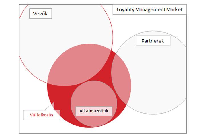Értelmező ábra az üzleti tervből. A piacról.