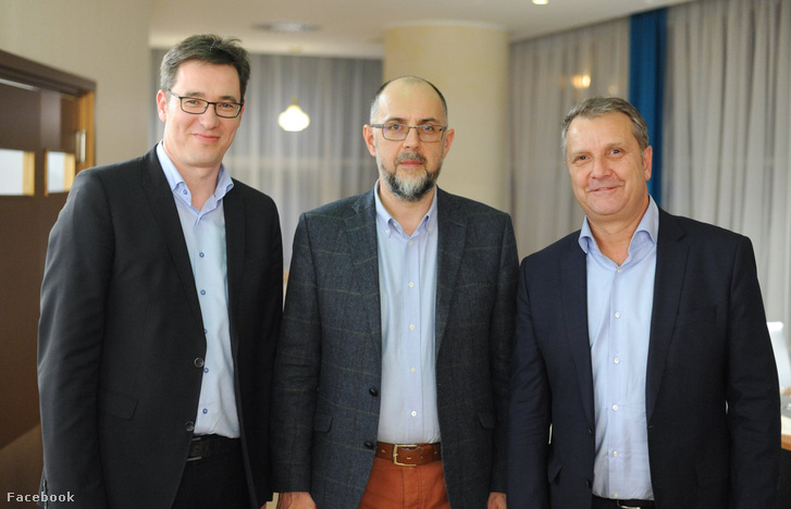 Karácsony Gergely, Kelemen Hunor és Molnár Gyula Kolozsváron