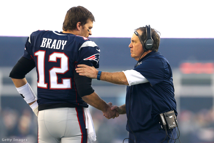 Tom Brady és Bill Belichick