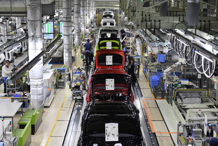 Toyota gyártósor