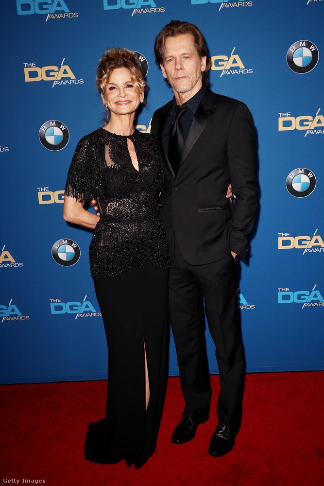 Ugyanitt Kevin Bacon is jelen volt feleségével, Kyra Sedgwickkel