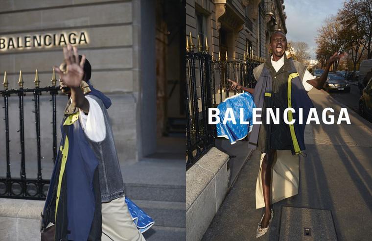 A Balenciagát úgy tűnik, hogy Kanye West kamupaparazzi fotók is inspirálhatták.