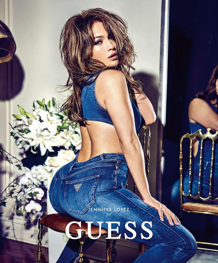 Nem is találhatott volna megfelelőbb modellt a Guess Jennifer Lopeznél.