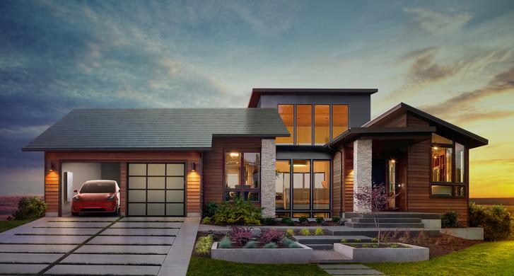 press solar roof
