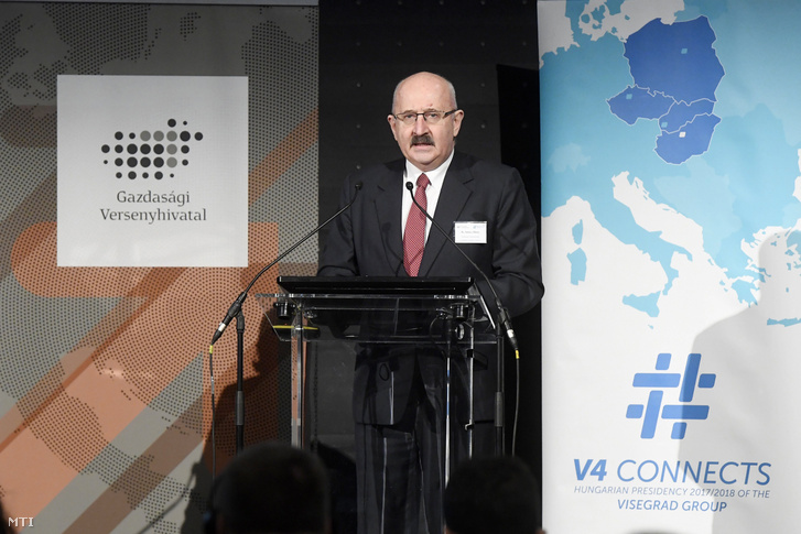 Juhász Miklós a Gazdasági Versenyhivatal elnöke
