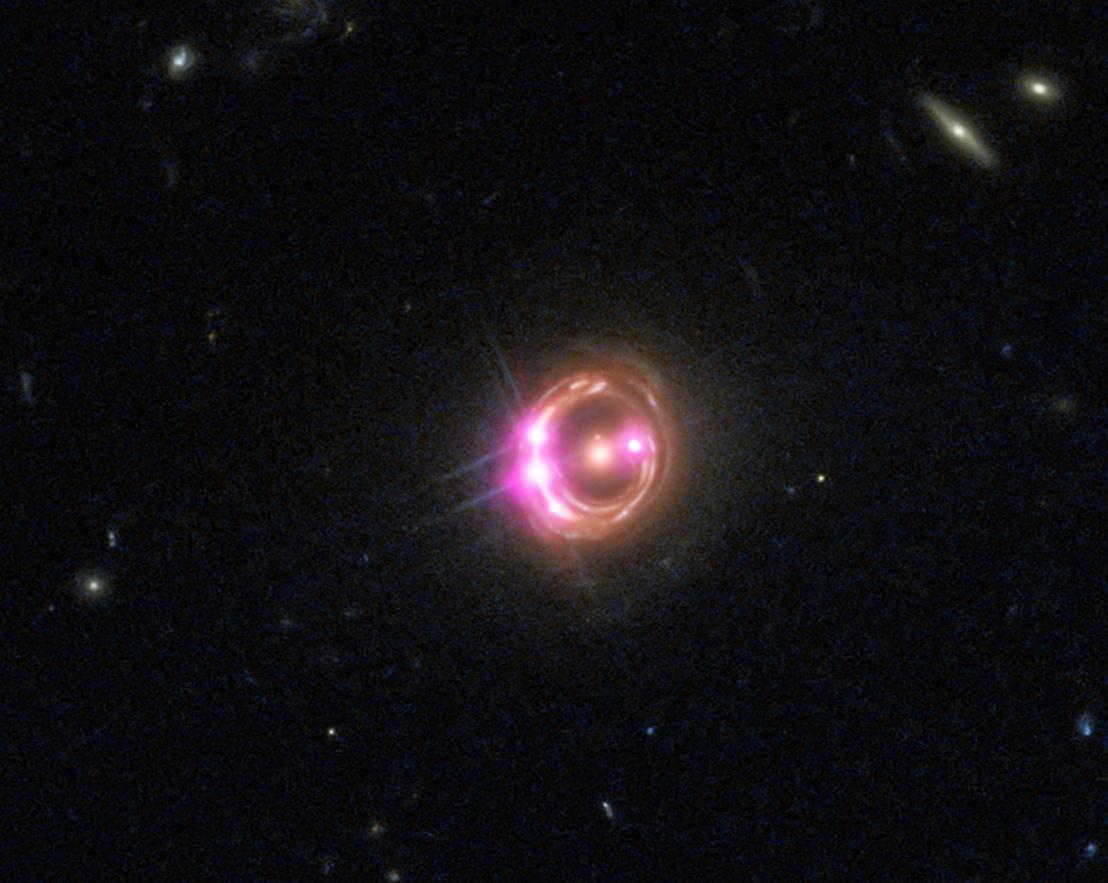 Az RX J1131-1231 a Chandra űrteleszkóp 2009-es felvételén