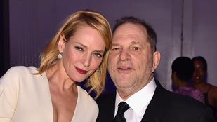 Uma Thurman nem Quentin Tarantinóra, hanem Harvey Weinsteinre dühös a balesete miatt