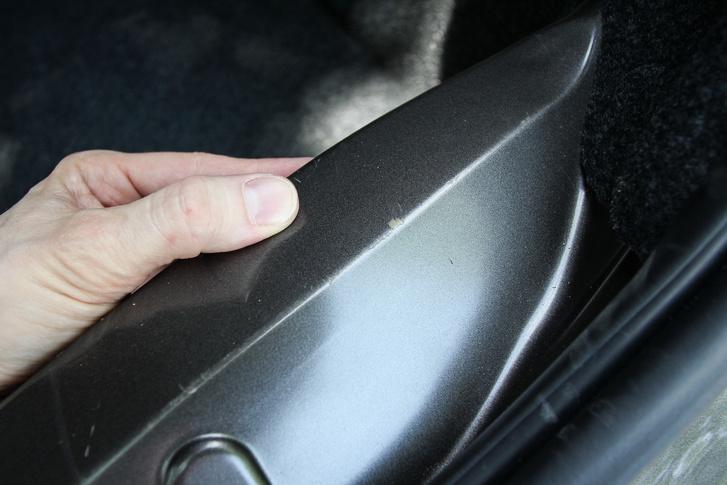 Ha csupasz a lemez könnyen sérül: csomagtartó anzix