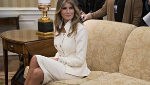 Melania Trump megint bebizonyította, hogy rosszul van a férjétől