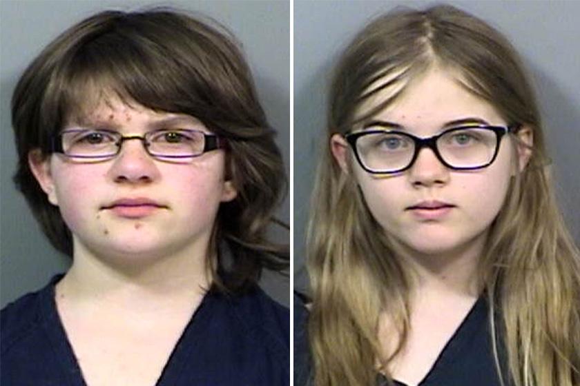 Anissa és Morgan a gyilkossági kísérlet évében.