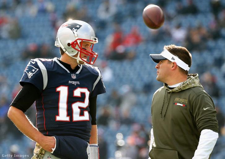 Tom Brady és Joch McDaniels