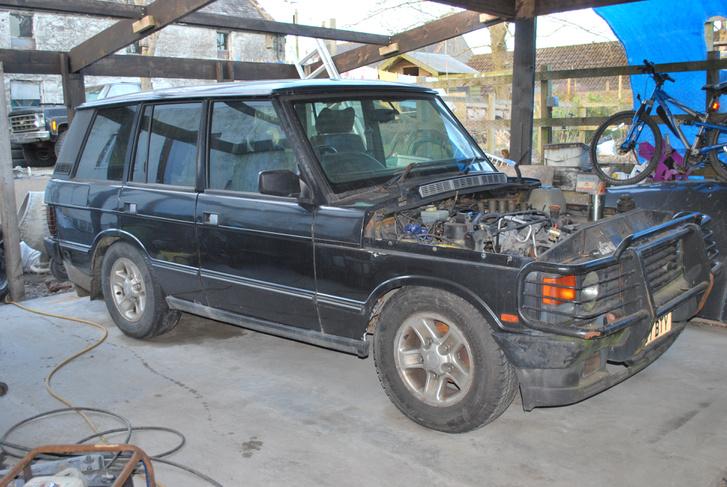 Valakinek a szétszedett Range Rovere, de külföld, az biztos
