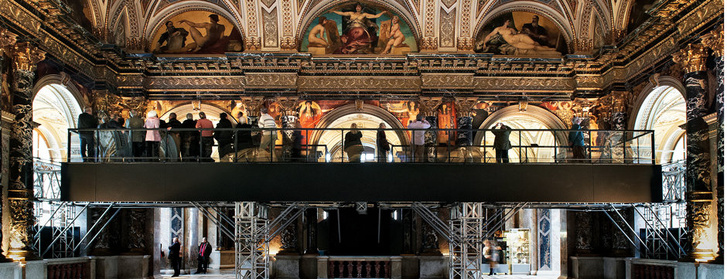 Klimt híd a bécsi Kunsthistorisches Museumban