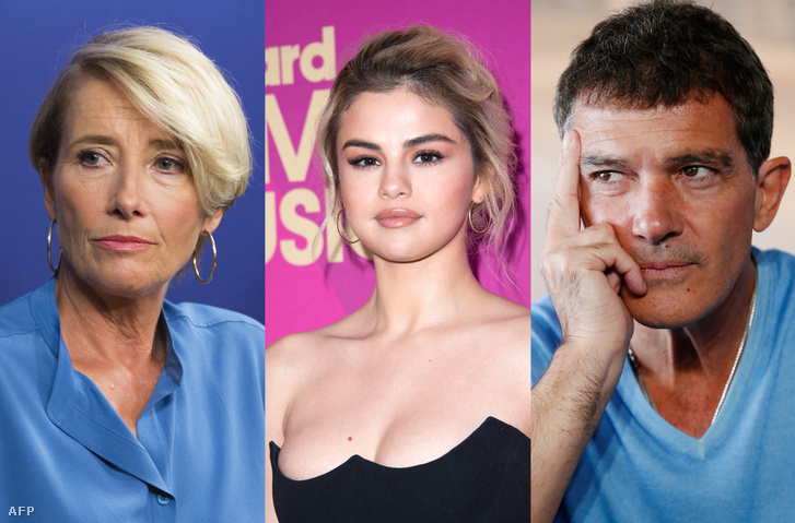 Emma Thompson, Selena Gomez, Antonio Banderas