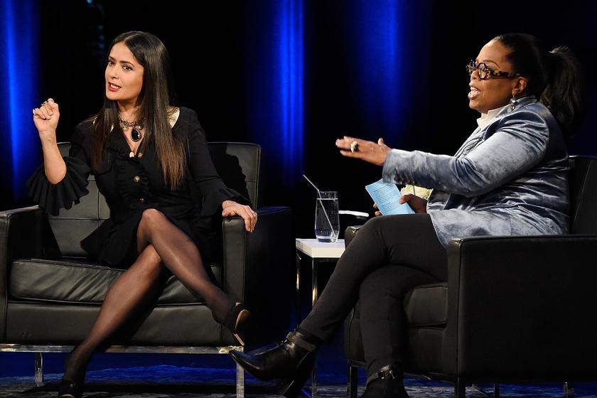 salma hayek oprah winfrey new york
