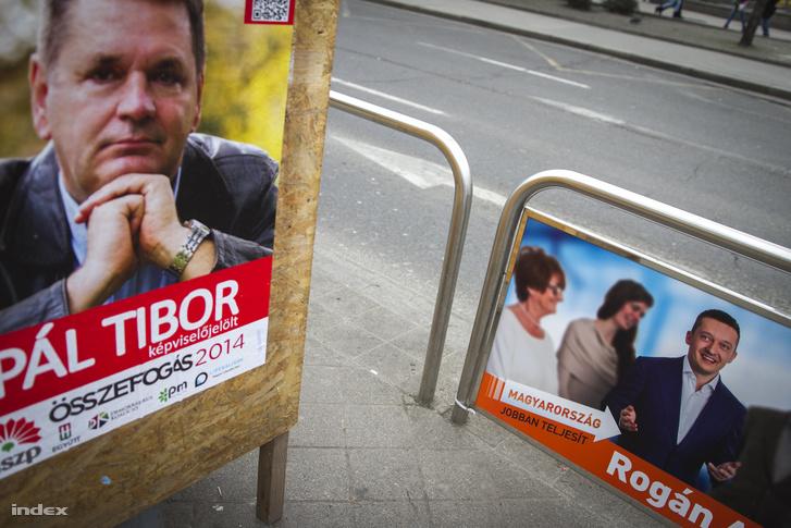 Választási plakátok 2014-ben