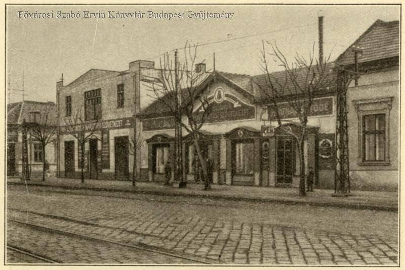 Az Árpád út 93. 1928-ban