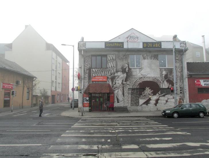 Az Árpád út 93. egy 2008 utáni felvételen