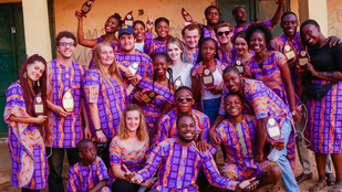 Önkéntesként Afrikában: