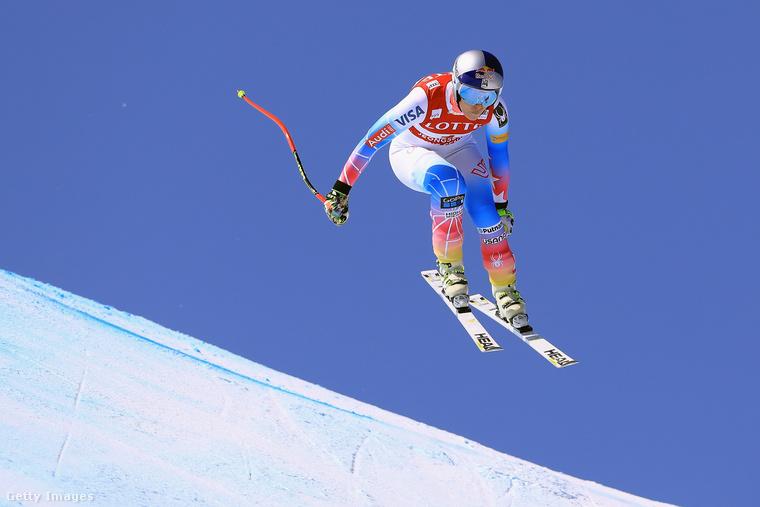 Lindsay Vonn olimpiai bajnok amerikai alpesi síző
