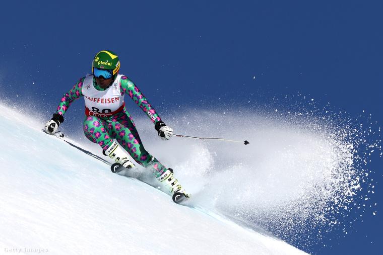 Sabrina Simader alpesi síző