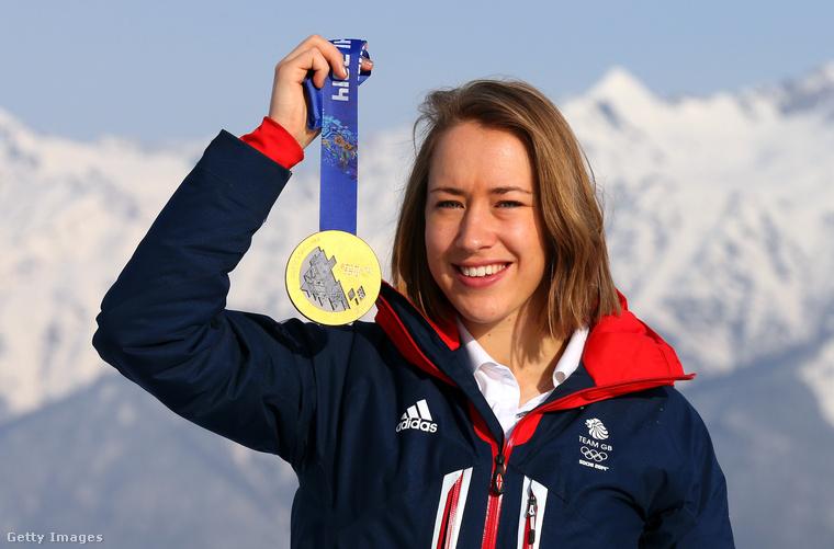 Ezen a képen Szocsiban látható, ahol aranyérmet nyert a szkeleton versenyszámában