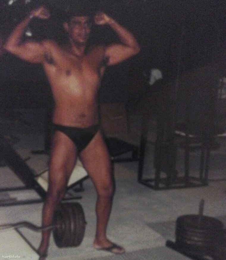 Alvaro Pereira így nézett ki, amikor még csak edzett, de semmilyen szert nem használt.