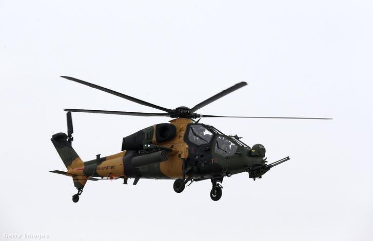 Török T-129 Atak helikopter