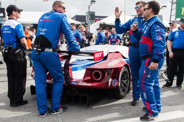 A Ford idén is aktív versenyprogramot tol. A WeaterTech-féle sorozat mellett teljes szezont mennek majd a WEC-ben is a GT-vel