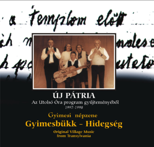 Az Új Pátria sorozat gyimesi népzenét tartalmazó lemeze