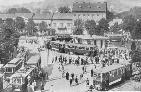 Széll Kálmán tér az 1920-as években