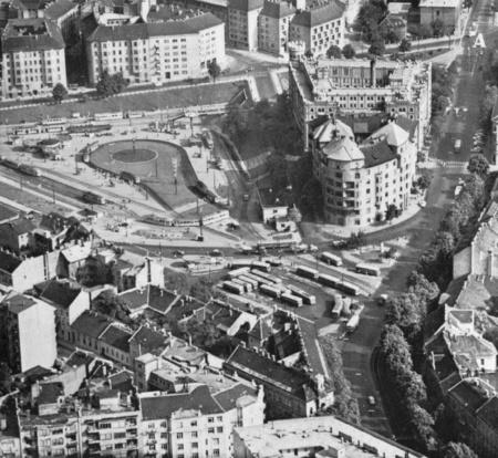 A Moszkava tér a 60-as években
