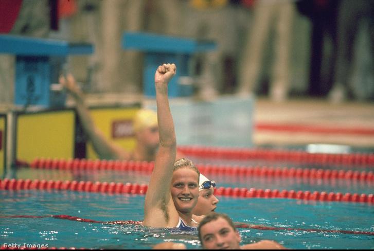 Kristin Otto hat aranyérmet szerzett a XXIV. nyári olimpiai játékokon.