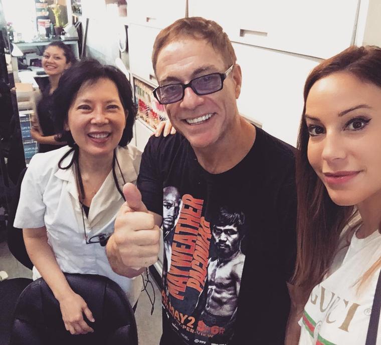 Jean-Claude Van Damme-mal a kedvenc fogorvosánál (2017